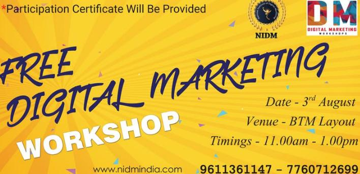 Advanced Digital Marketing Workshop