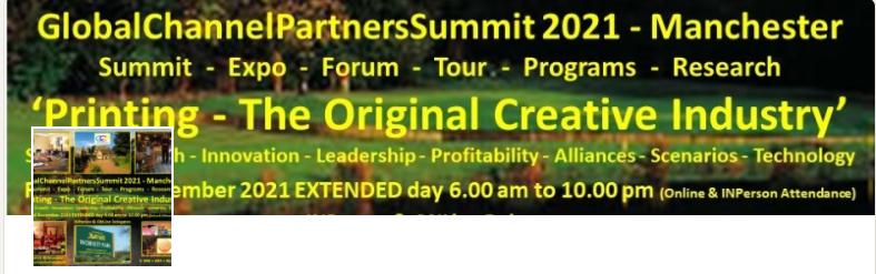 GlobalChannelPartners Summit 2021 - Manchester