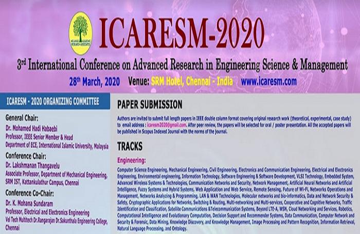 ICARESM 2020