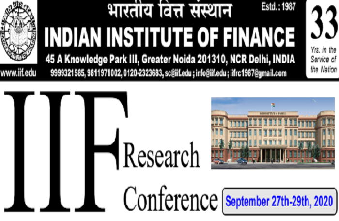 IIF Research Conference