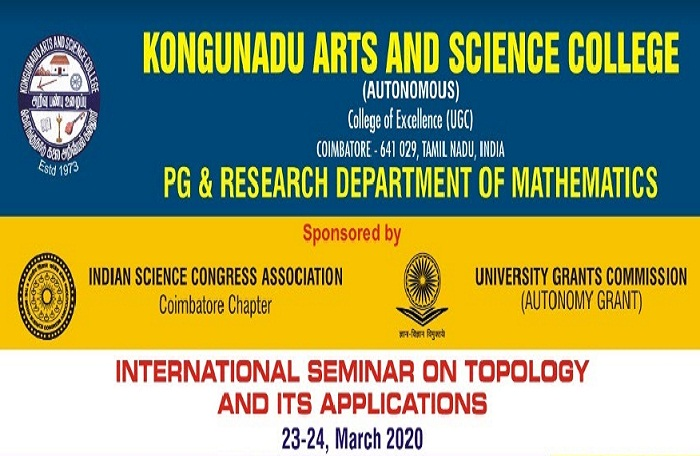 International Seminar on Topology and its applications