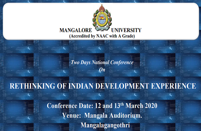 Two Days National Conference on Rethinking of Indian Development Experience
