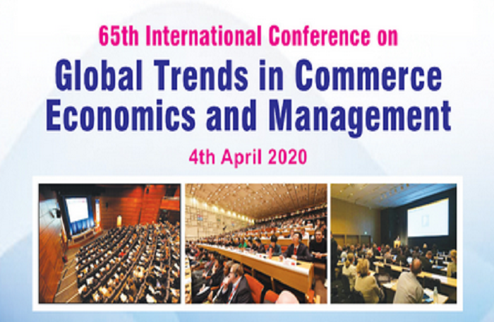 65th International Conference on Global Trends in Commerce Economics and Management