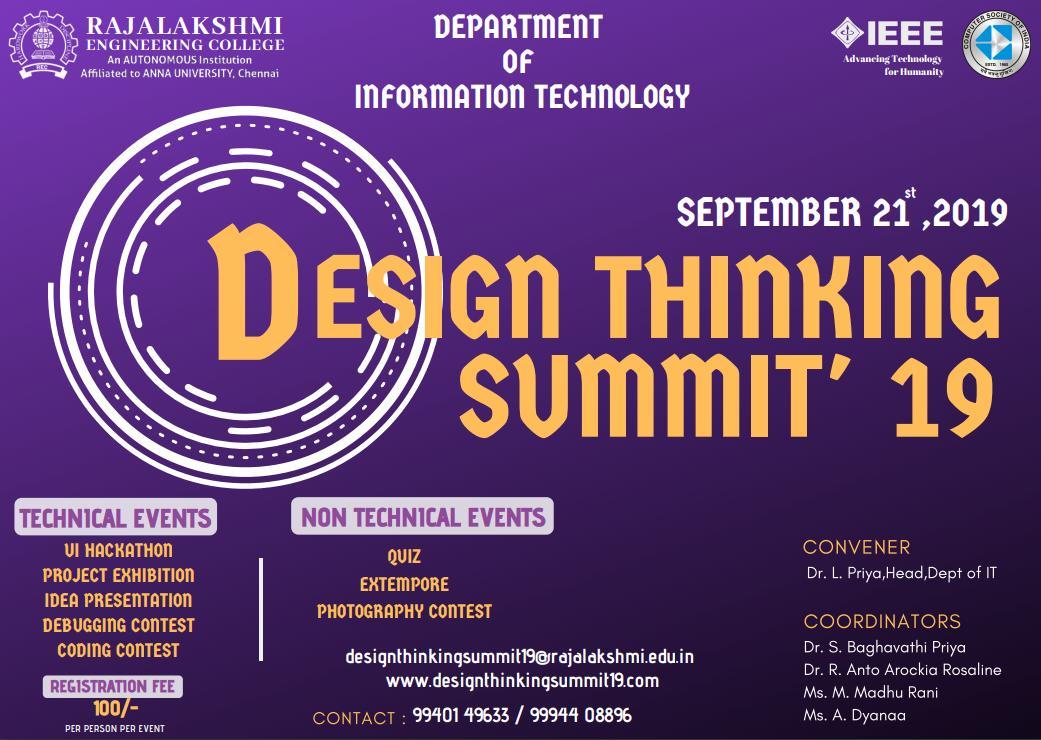 Design Thinking Summit 2k19