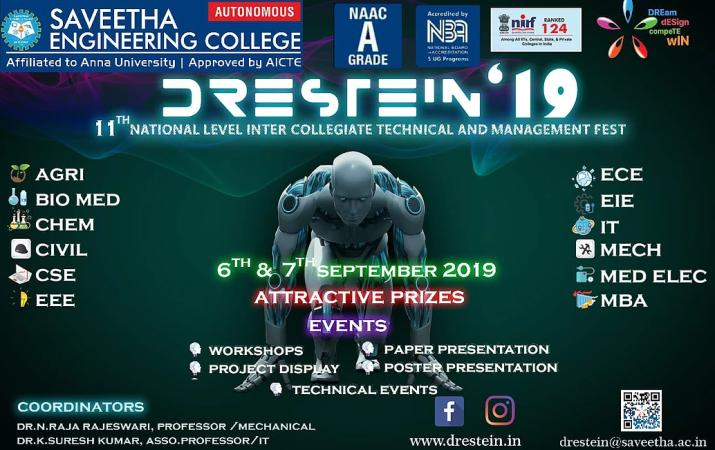 Drestein 19 Technical and Management Fest
