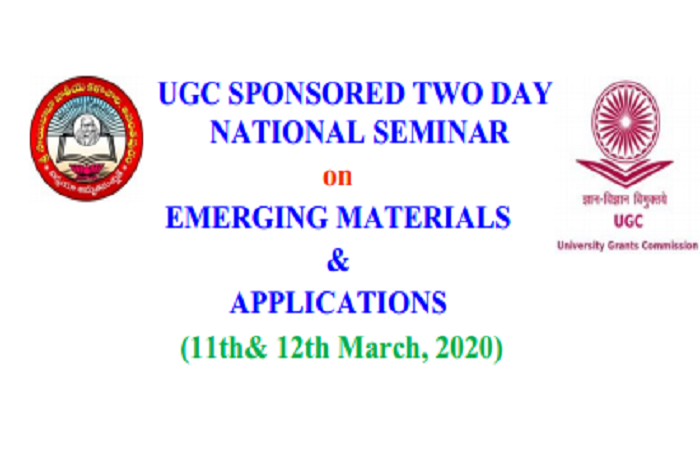 National Seminar on, Current Status of energy materials and fuel cells for commercial exploitation