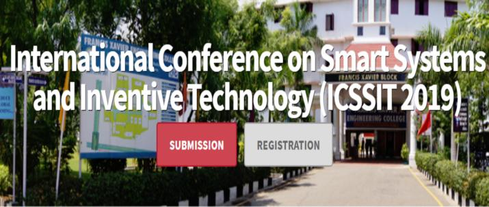 International Conference on Smart Systems and Inventive Technology