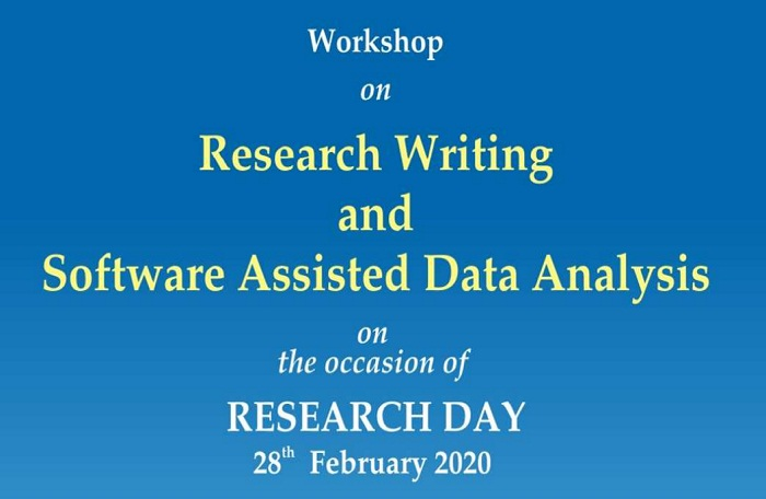 Workshop on Research Writing and Software Assisted Data Analysis