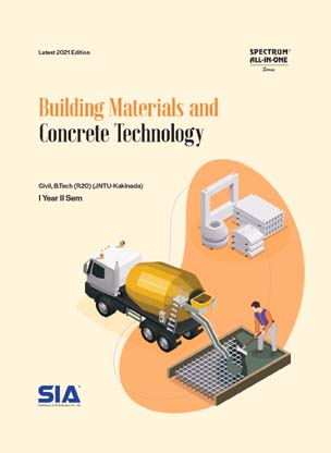Building Materials and Concrete Technology (JNTU-K)