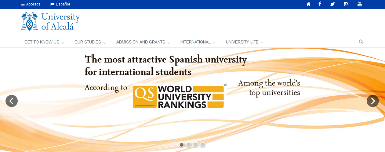 Top 10 Universities in  Spain for Higher Education