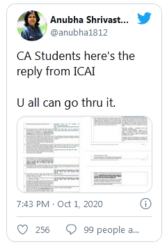 ICAI CA Exams 2020 Not possible to postpone exams ICAI issues reply