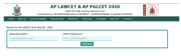 AP LAWCET Result 2020 Declared How To Download Rank Card Merit List