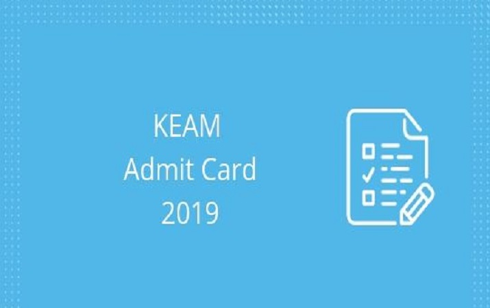Admit cards for KEAM 2019 to be released today,check for more details