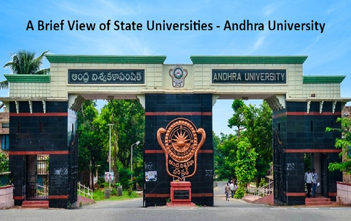 A Brief View of State Universities - Andhra University
