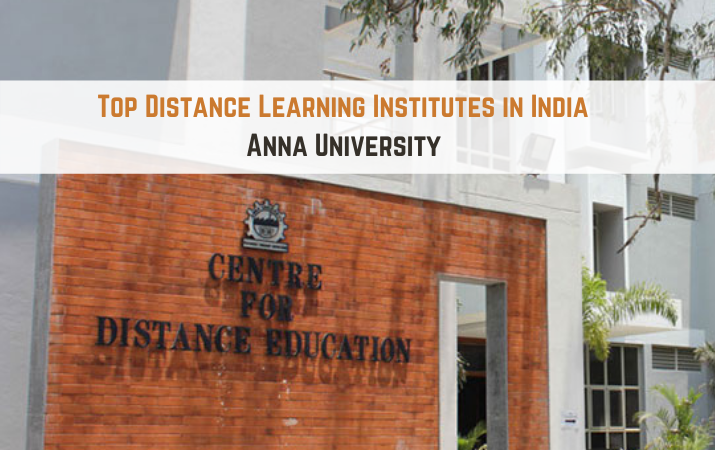 Top Distance Learning Institutes in India - Anna University