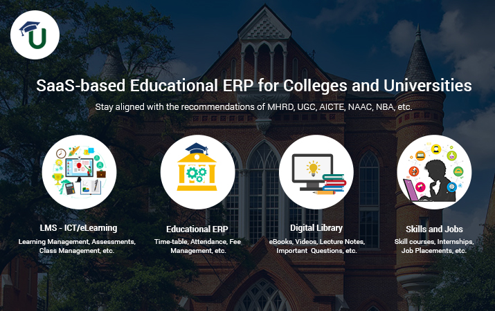 College and University Management Software (ERP) – TCS iON vs uLektz Campus