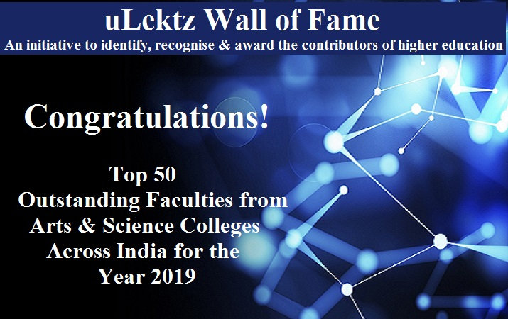 uLektz Wall of Fame is proud to announce,
