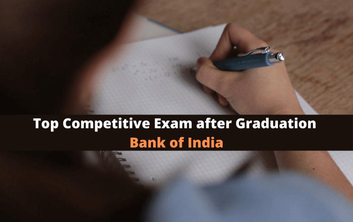 Top Competitive Exam after Graduation Bank of India