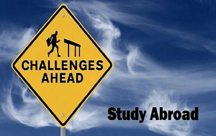 Challenges of studying abroad
