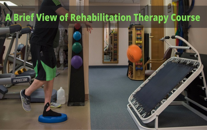 A Brief View of Rehabilitation Therapy Course