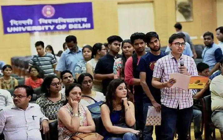DU Admission ends : Three lakhs plus candidates registered for 56000 seats