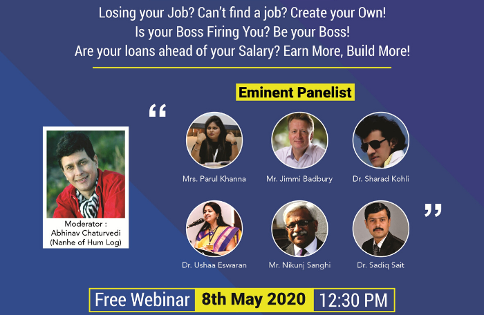 My First Boss to conduct Free webinar on 'Entrepreneurship versus Conservative Jobs'