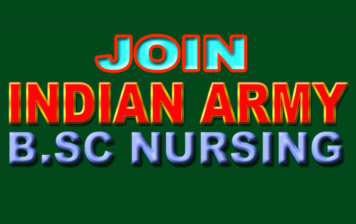 Indian Army Invites Application For BSc Nursing Course