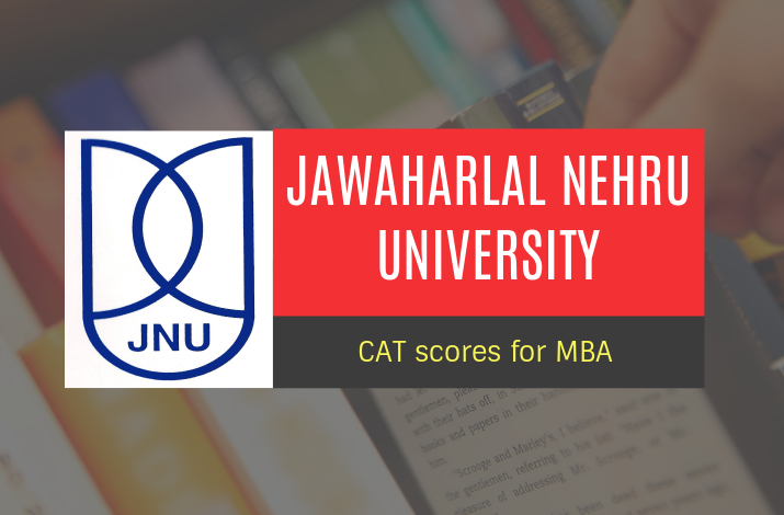 JNU to acknowledge CAT scores for MBA.