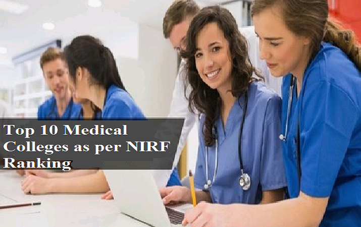Top 10 Medical colleges in India as per NIRF Ranking 2019