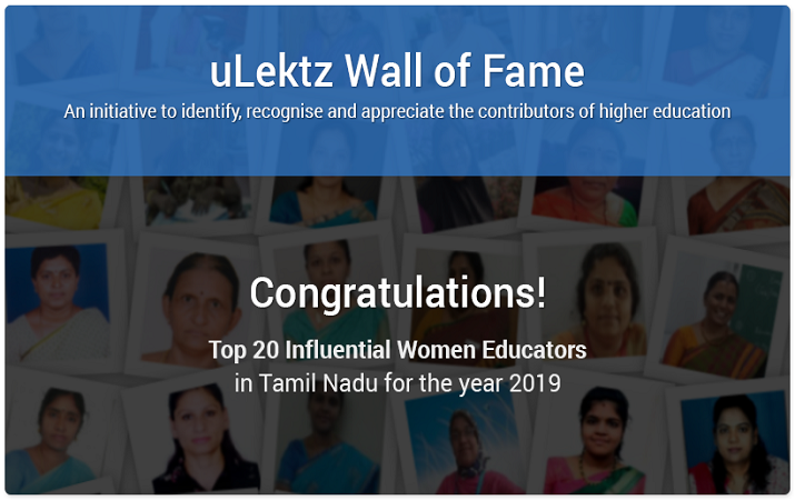 uLektz Wall of Fame is proud to announce