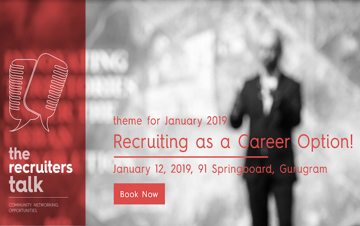 TheRecruiterTalk - Recruiting as a career option!