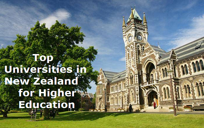 Top Universities in New Zealand  for Higher Education