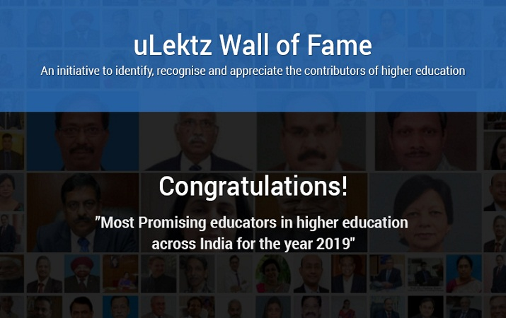uLektz Wall of Fame is proud to announce Most Promising Educators in h
