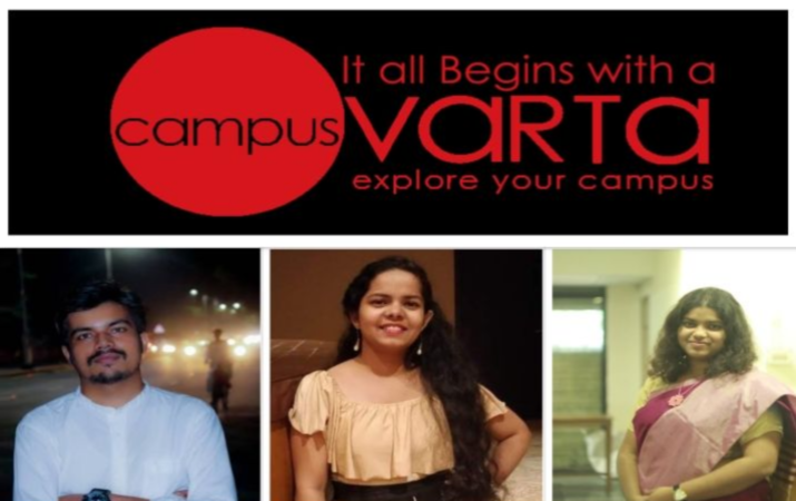 CAMPUS VARTA, an ed-tech platform based in Bihar that brings together rural schools, colleges, and universities