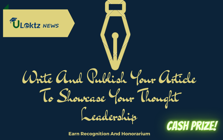 Write And Publish Your Article To Showcase Your Thought Leadership