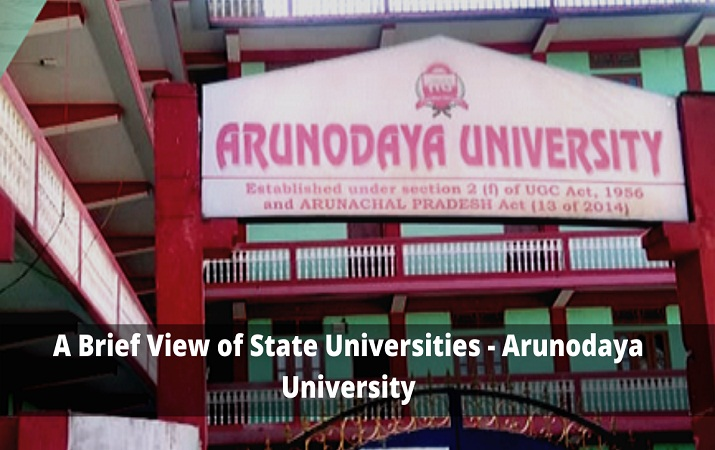 A Brief View of State Universities - Arunodaya University