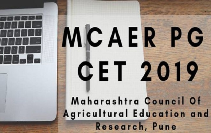 MCAER PG CET admit card 2019 released, how to download
