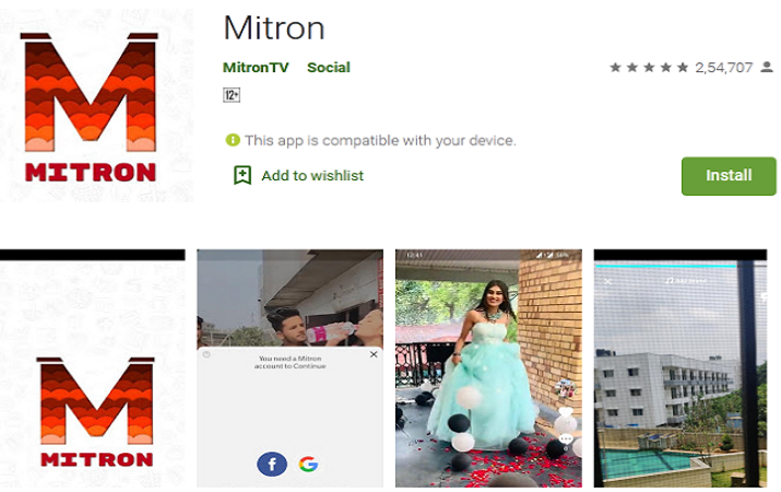 Amid rising anti-China mood, local app Mitron eats into TikToks India market in eye-popping manner