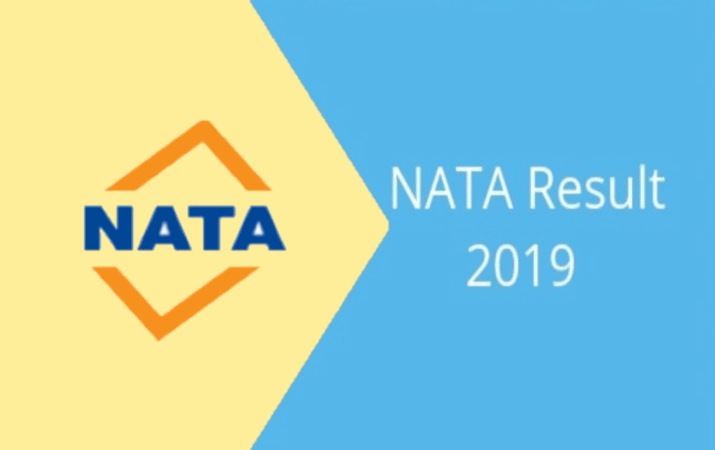 Results for NATA 2019 to be released today, Check for more details