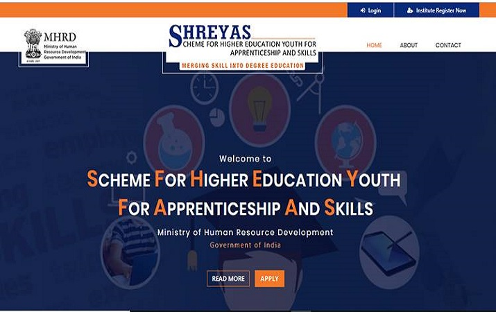 HRD Ministry launches SHREYAS to skill non-technical students