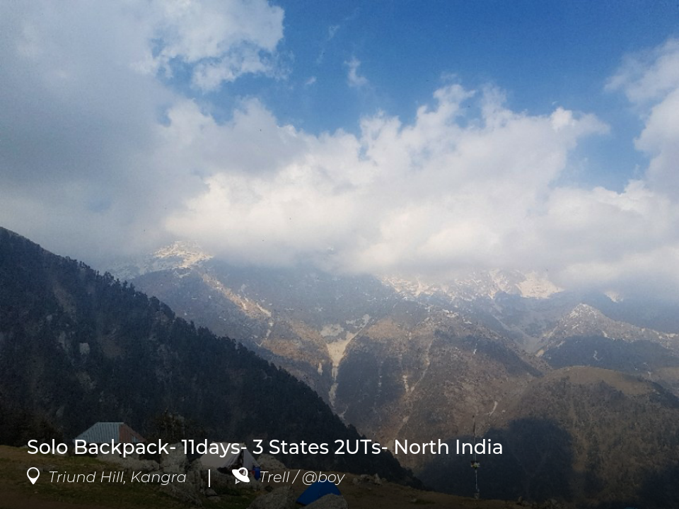 Post at triund hill kangra by foodzeeindia for 7 hill cuisine of india sarasota