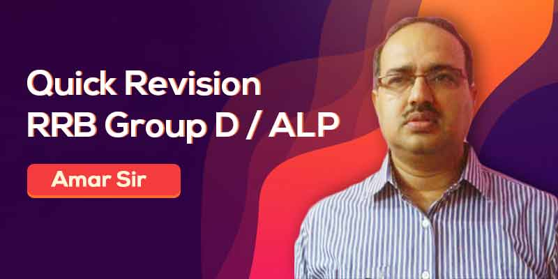 Quick Revision - RRB Group D