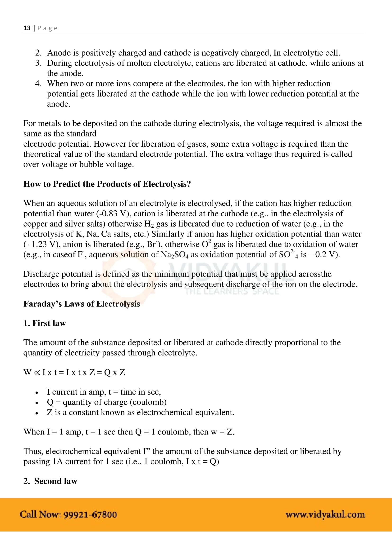2nd puc chemistry notes
