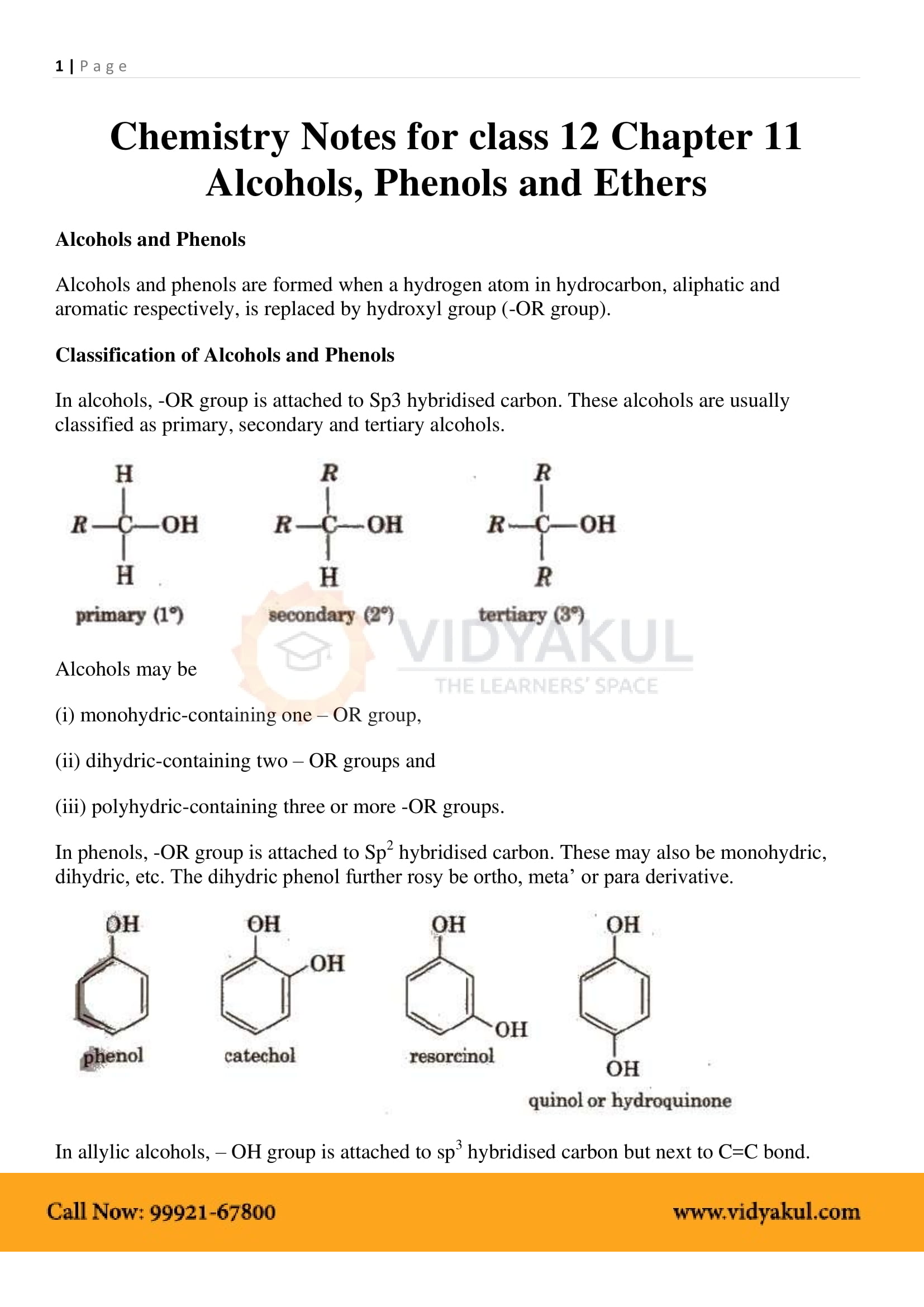 Cbse class 12 chemistry notes download