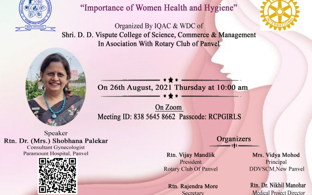 Importance of Women Health and Hygiene