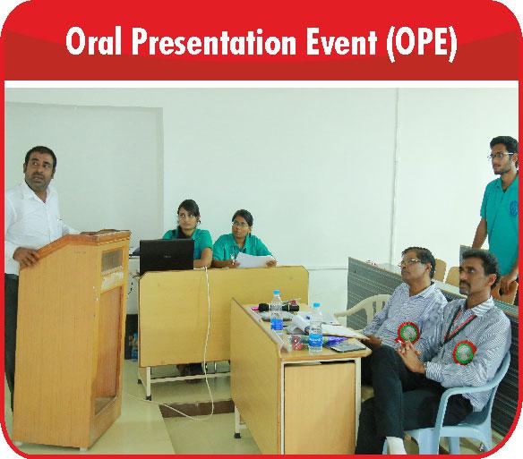 Oral Presentation Event