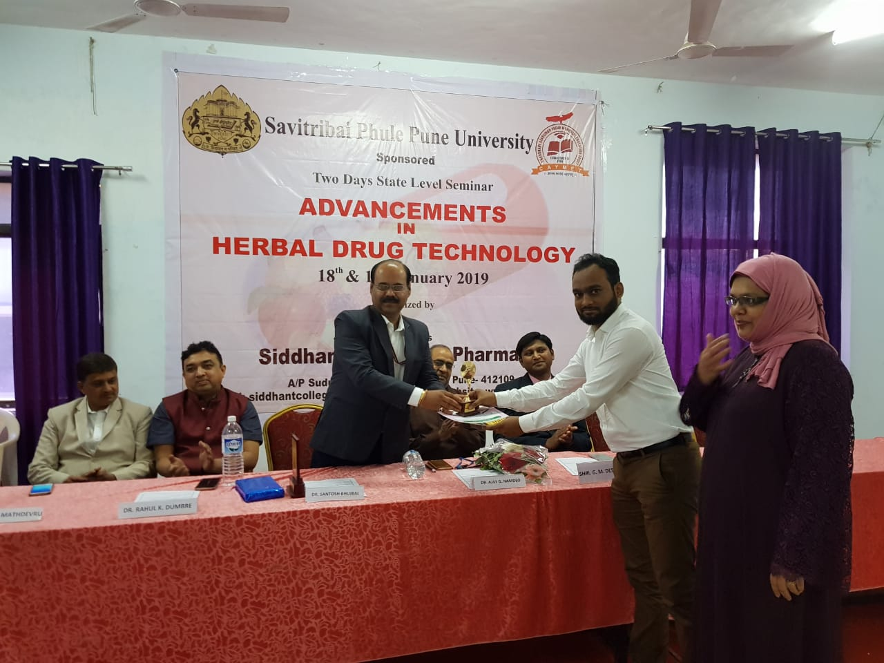 Poster Presentation on Advancements in Herbal Drug Technology