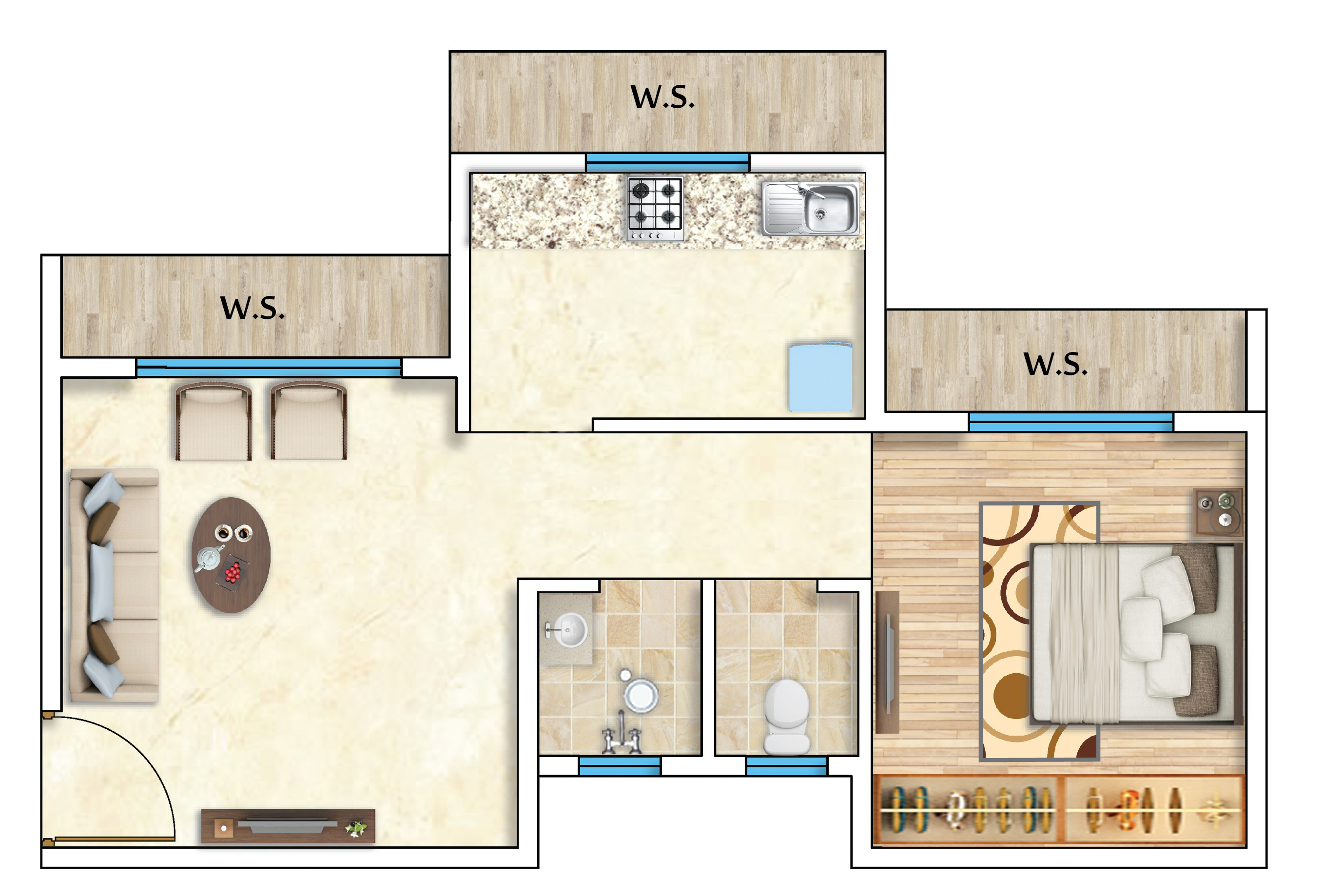 1,2 and 3 BHK Flats for sale in Neelkanth Vihar, New Panvel