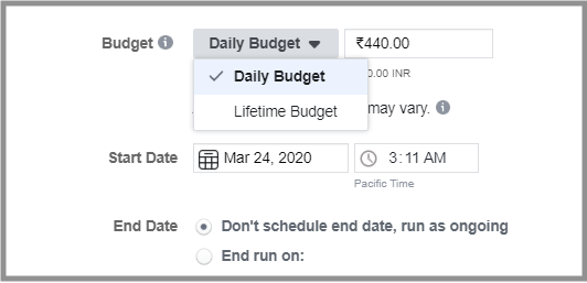 Ad Scheduling and Budget Optimisation