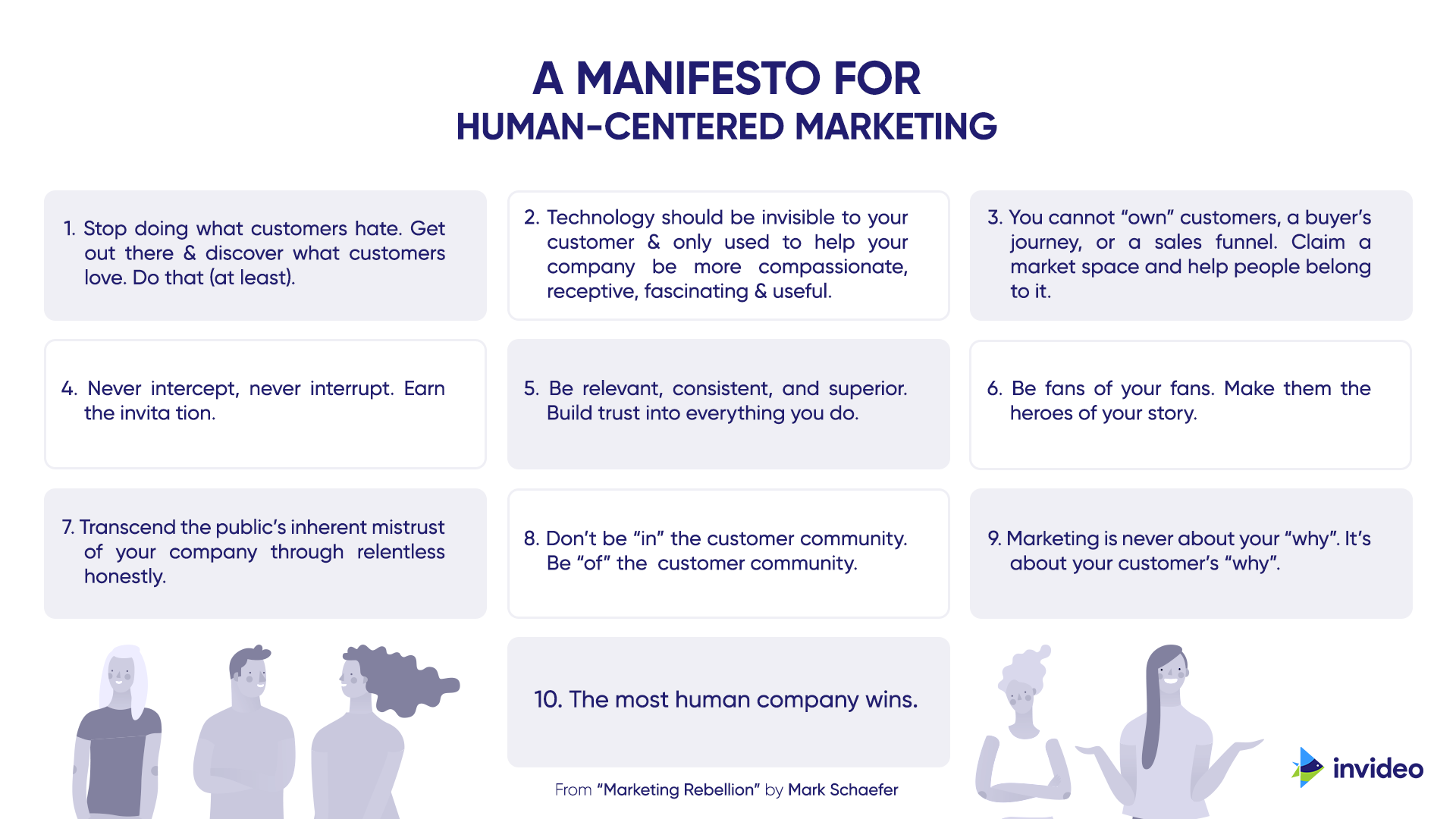 Manifesto For Human-Centered Marketing